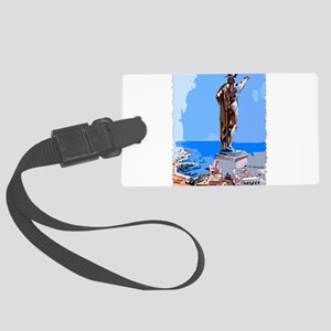 Colossus of Rhodes Luggage Tag