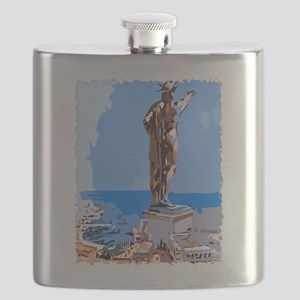 Colossus of Rhodes Flask