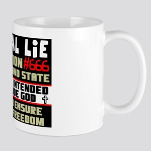 """Liberal Lie # 666"" Mug"