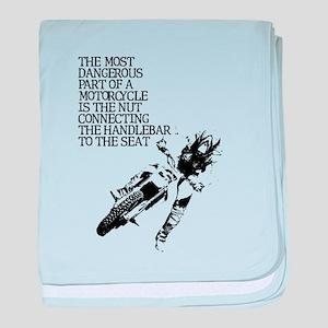 Dangerous Nut Dirt Bike Motocross Shirt baby blank