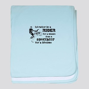 Rider For a Minute Dirt Bike Motocross Shirt baby