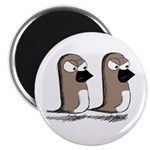 """Jim and Terry 2.25"""" Magnet (100 pack)"""