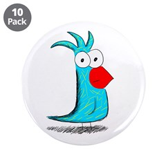 """Exotic 3.5"""" Button (10 pack)"""