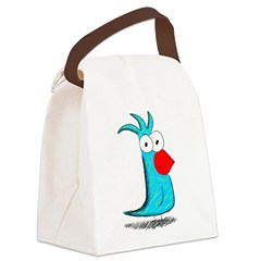 Exotic Canvas Lunch Bag