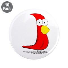 """Darryl 3.5"""" Button (10 pack)"""