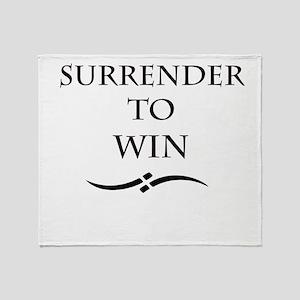 Surrender Throw Blanket