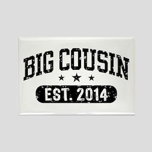 Big Cousin Est. 2014 Rectangle Magnet
