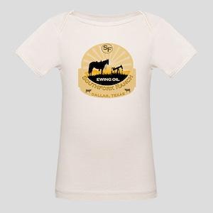 DALLAS Ewing Oil Organic Baby T-Shirt