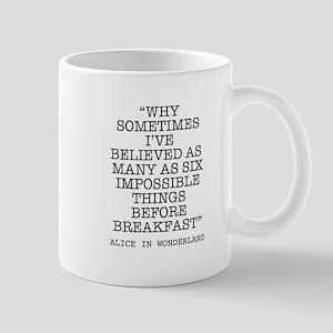 ALICE QUOTE Mug