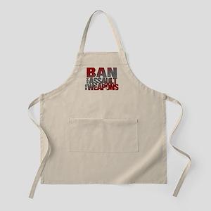 Ban Assault Weapons Apron