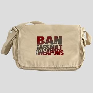 Ban Assault Weapons Messenger Bag
