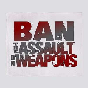 Ban Assault Weapons Throw Blanket