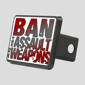 Ban Assault Weapons Rectangular Hitch Cover