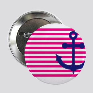 """Anchors Away Flag w/Lilly Pulitzer 2.25"""" Button"""