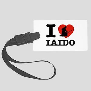 I love Laido Large Luggage Tag