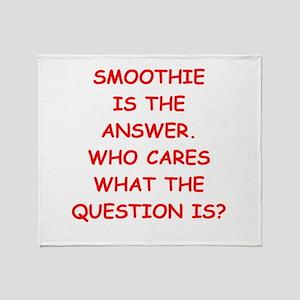 smoothie Throw Blanket