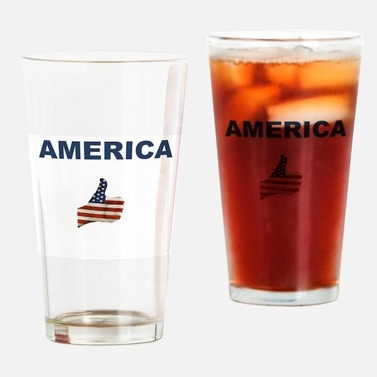 Like America Drinking Glass