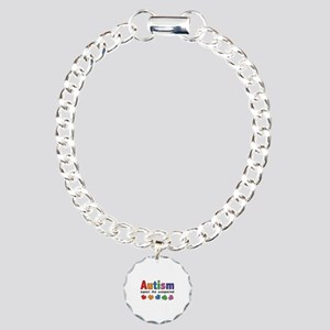 Autism Expect the unexpected Charm Bracelet, One C