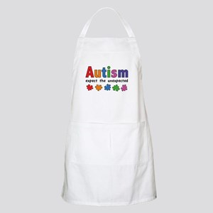 Autism Expect the unexpected Apron