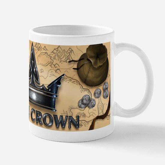 Iron Crown Map Banner Small Mug Mugs
