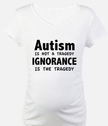 Autism Is Not A Tragedy Shirt