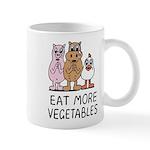 Eat more vegetables Mug