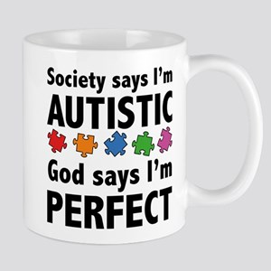God Says I'm Perfect Mug