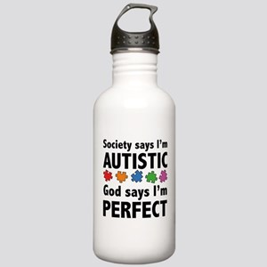 God Says I'm Perfect Stainless Water Bottle 1.0L