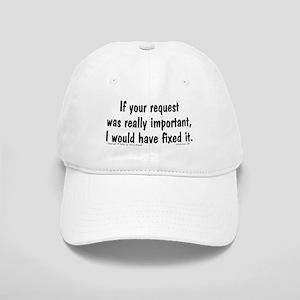 Req. Important... Cap