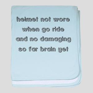 Helmet Not Wore Dirt Bike Motocross Shirt Funny ba