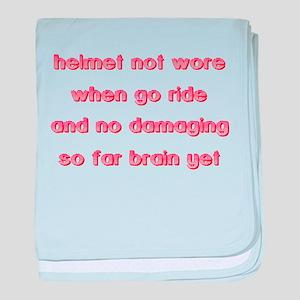 Helmet Not Wore Dirt Bike Motocross Funny T-Shirt