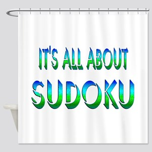 About Sudoku Shower Curtain