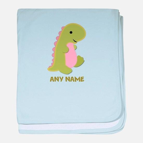 Cute Dinosaurs baby blanket