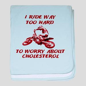 Cholesterol Dirt Bike Motocross Funny T-Shirt baby