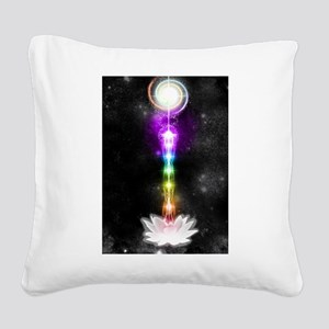 Sacred self Square Canvas Pillow