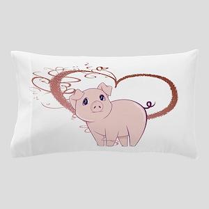Cute Piggy Art Pillow Case