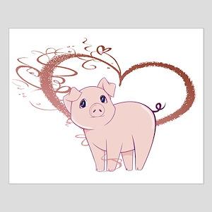 Cute Piggy Art Posters