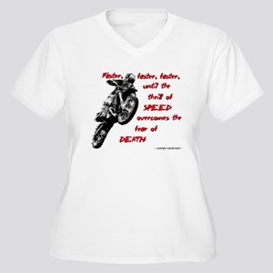 Faster Dirt Bike Motocross Quote Saying Plus Size