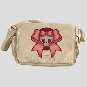 Skull 'n Bows Messenger Bag