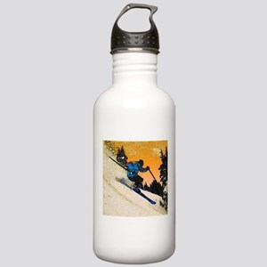 skier1 Water Bottle