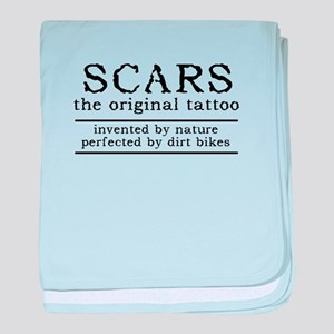 Scars Original Tattoo Dirt Bike Motocross Funny ba