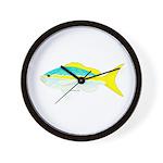 Yellowtail Snapper fish Wall Clock