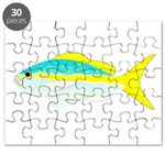 Yellowtail Snapper fish Puzzle