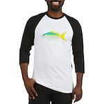 Yellowtail Snapper fish Baseball Jersey