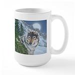 Wolf Moon Rising: Large Mug