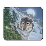 Wolf Moon Rising: Mousepad