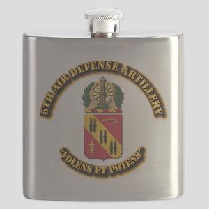 COA - 5th Air Defense Artillery Flask