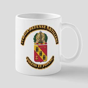 COA - 5th Air Defense Artillery Mug