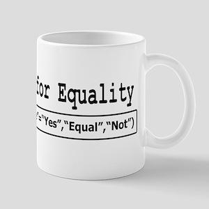 Excel Geeks for Equality Mug