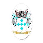 Bonny Oval Car Magnet